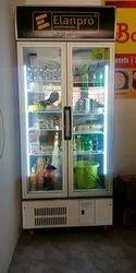 630 Litres Double Door Visi Cooler