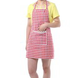 Printed Cotton Woven Aprons, Size: 70 X 90 Cm