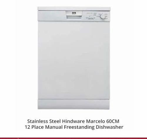 Hindware Marcelo 60CM 12 Place Manual Freestanding Dishwasher