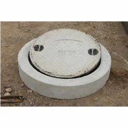Round Concrete Manhole Cover