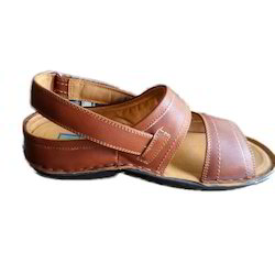Airmix Casual Mens Brown Leather Sandals, Size: 5-11