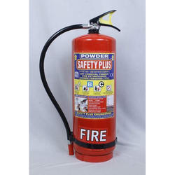 Safety Plus Mild Steel 9Kg Dry Chemical Powder Fire Extinguisher