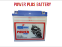 Power Plus Batteries For 2 Wheelers
