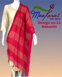 NAZAMIN ZARI THREAD WORK DUPATTA