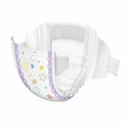 Nonwoven Disposable Baby Diaper, Size: Small, Age Group: 3-12 Months