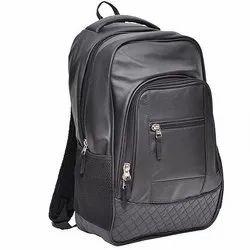 Leatherette Bagpack