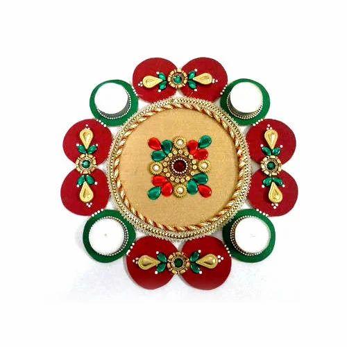 wooden decorative rangoli at rs 250 piece lakdi ki rangoli