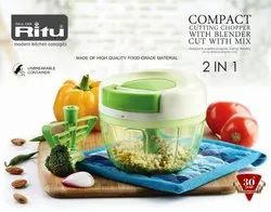 J-261  New Compat Cutting Chopper ( 2 In 1 )