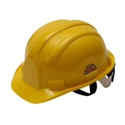 Yellow PVC Prima Safety Helmet, For Construction