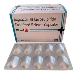 Ilaprazole and Levosulpiride Sustained Release Capsules
