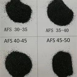 Black Chromite Sand foundry grade