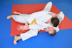 25 mm thick JUDO Inter connecting Mat Red & Blue (NO PASTING)