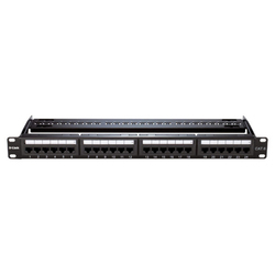 24 Port Loaded Patch Panel