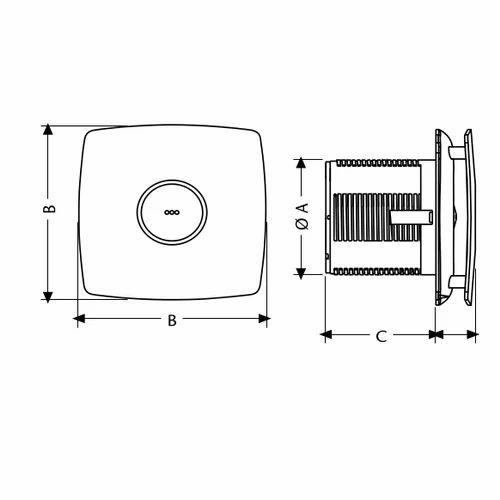 Cata X Mart 10 220 240v Perimetral Bathroom Fan Bathroom Vent Fan Bathroom Exhaust Fan ब थर म फ न ब थर म क प ख Cata Electrodomesticos India P Limited New Delhi Id 20107826373