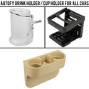 Autofy Drink Holder/ Cup Holder For All Cars