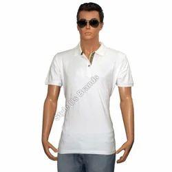 Plain Collar Neck Men Golf Polo T-Shirt