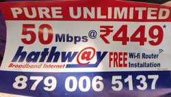 Internet Service, Usage Capacity: Unlimited