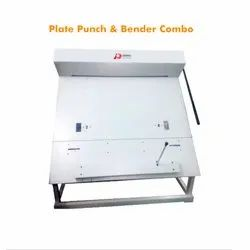 Plate Punch and Bender Combo Machine