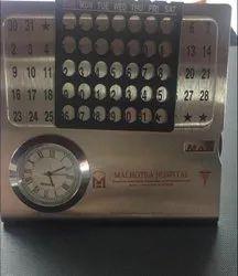 Desktop Steel Lifetime Calendar
