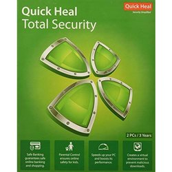 Quickheal 1 User 1 Year Total Security Antivirus (Only Key)