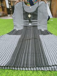 Ladies Black Cotton Kurti