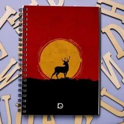 Unique Multicolor Diary - Spiral Binding, Monthly, Paper Size: A5