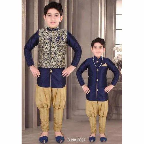 e0289395 Boys Ethnic Indo Western Set at Rs 995 /set   Child Indo western ...