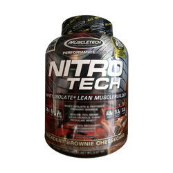 Muscletech Lean Muscle Protein Powder, Packaging Type: Plastic Container