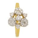 Rings Yellow Gold Diamond Ring