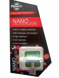 Facepro TRANS PARENT Nano Hi Tech Invisible Liquid Screen Protector, Packaging Type: Packet