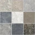 Vitrified Tiles Nitco Cubix Azul For Floor, Thickness: 10 - 12 Mm