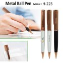 Metal Ball Pen H-225