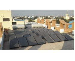 Flat Plate Solar Collector for Hotels