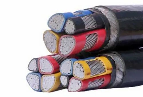 Sci Aluminium Conductor Xlpe Insulated Pvc Sheathed Armoured Cable Of Size 3.5c X 185 Sq.mm