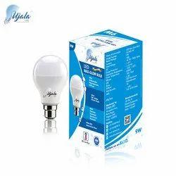 Aluminum Round Surya Led Bulbs 9W