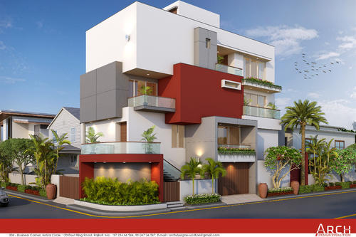 Architecture Building Project Design Services In Indira
