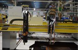 Esab Automatic CNC Gantry Cutting Machine, 1000-2000 mm/min, 20 mm