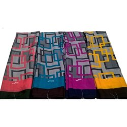 Casual Wear Ladies Chiffon Sarees, 6.3 m (with blouse piece)