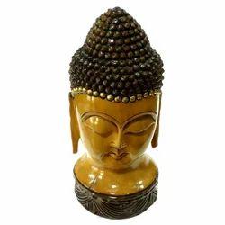 Wooden Finishing Buddha Statue