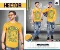 Hector Men's Round Neck T Shirts