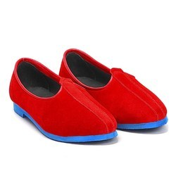 Bareskin Mens Leather Red Jalsa Shoes