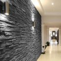 Black Slate Wall Panel
