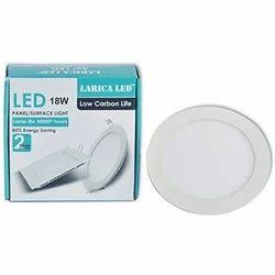 Larica 18 Watt LED Panel Light, Model Name/Number: PL018W