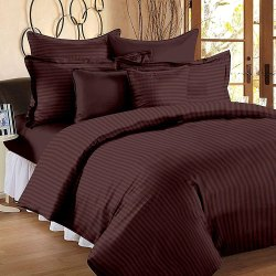 Satin Cotton Bedsheets Plain 90x100 Inch
