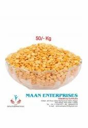 Maan Enterprises White Chana Dal, High in Protein, Packaging Size: 5kg to 100kg