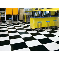 Telephone Black Floor Tiles