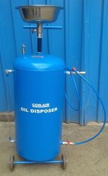 Oil Disposer - (Waste) with Pneumatic Transfer Sys - 100Ltr