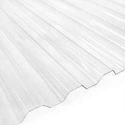 Poly-carbonate Corrugated Sheet