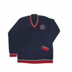 Boy's Blue School Sweater