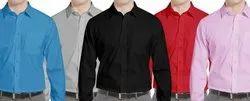 YSF Formal Plain Cotton Shirt